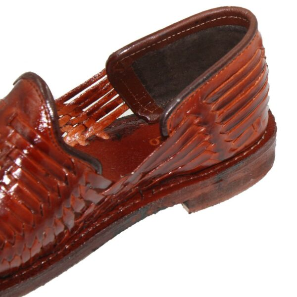 Men Genuine Authentic Mexican Huraches Leather Sandals Welt Stitched Sole