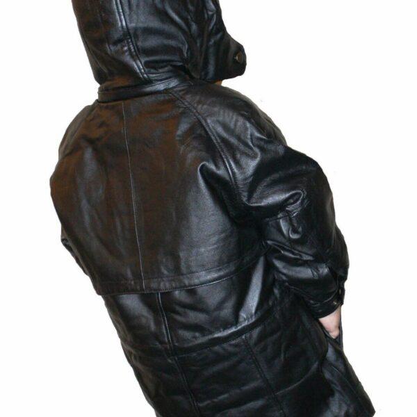 Napa Leather Children Coat Jacket
