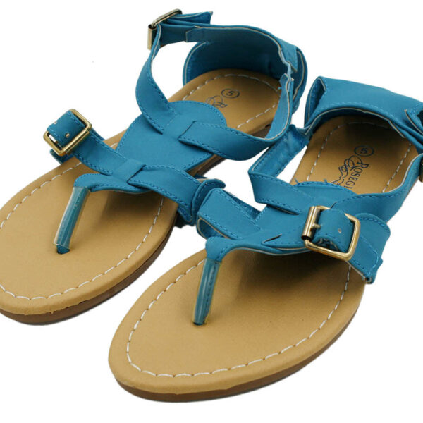 Women Summer Gladiator Sandals Flats Fashion Things T Straps Shoes