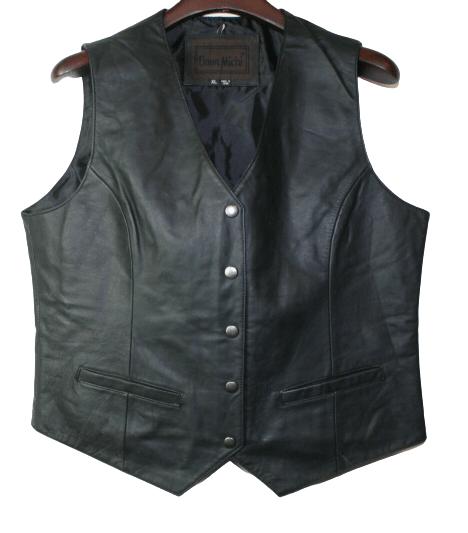Women Snap Closure Vest