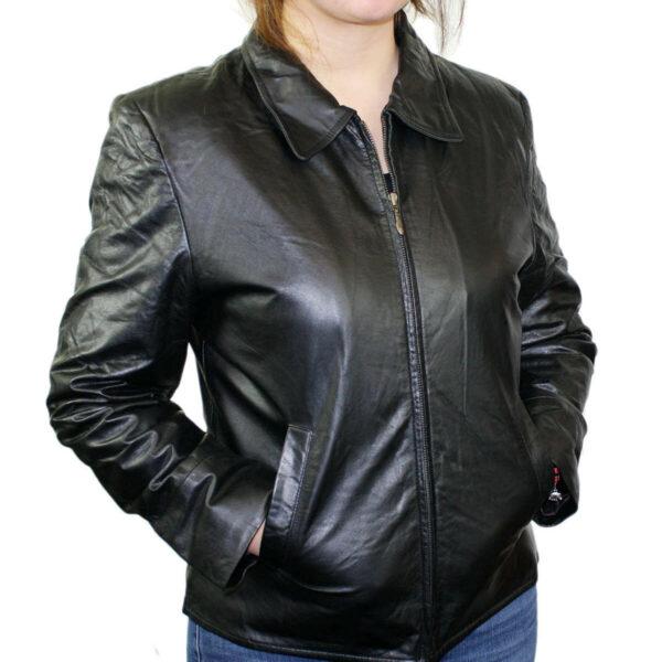 Women Soft Cowhide Jacket