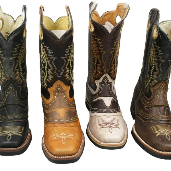 Men Rodeo Western Boots