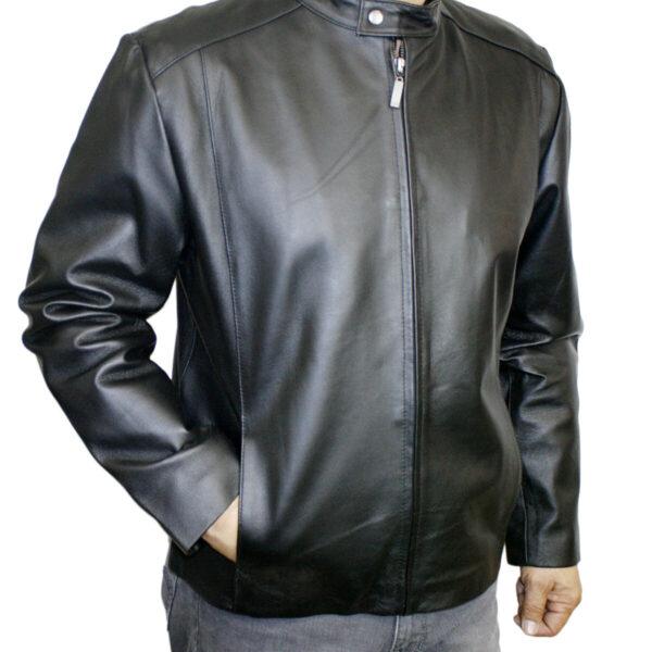 Men Biker Style Jacket